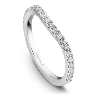 NOAM CARVER WEDDING BAND B001-05WA-100B
