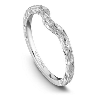 NOAM CARVER WEDDING BAND B004-02WAE-100B