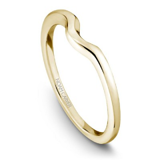 NOAM CARVER WEDDING BAND B004-04YA-100B