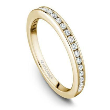NOAM CARVER WEDDING BAND B006-01YWA-100B