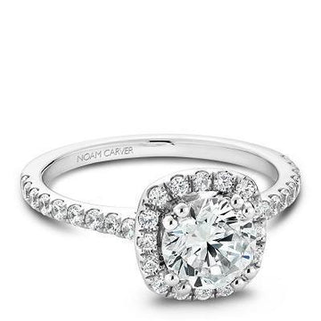 NOAM CARVER ENGAGEMENT RING B007-02WA-100A