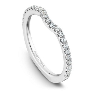 NOAM CARVER WEDDING BAND B009-01RA-100B