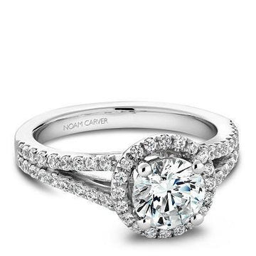NOAM CARVER ENGAGEMENT RING B015-01WA-100A