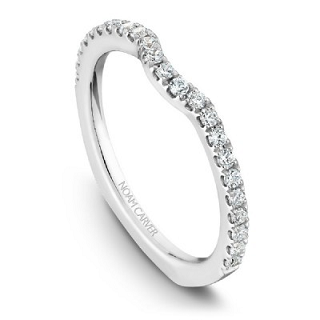 NOAM CARVER WEDDING BAND B015-01WA-100B
