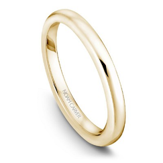 NOAM CARVER WEDDING BAND B018-01YA-100B