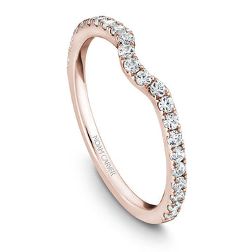 NOAM CARVER CURVED WEDDING BAND - Appelt's Diamonds