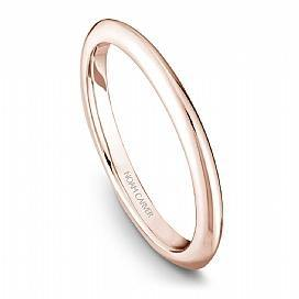 Noam Carver Rose Gold Traditional Wedding Band