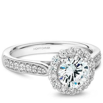NOAM CARVER ENGAGEMENT RING B250-01WA-100A
