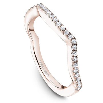NOAM CARVER TWIST WEDDING BAND - Appelt's Diamonds