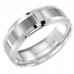 CROWN RING GENTLEMANS WEDDING BAND BR-9402