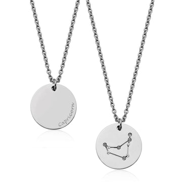 STEELX CAPRICORN CONSTELLATION NECKLACE