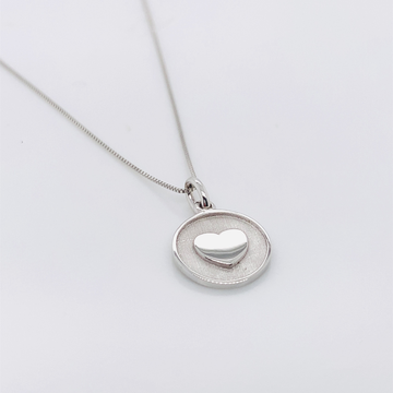 JOY SMITH FOUNDATION STERLING SILVER NECKLACE-I AM LOVED