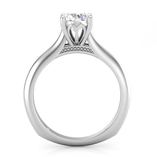 TIARA SOLITAIRE ENGAGEMENT RING L7816