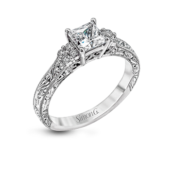 SIMON G ENGAGEMENT RING   LP2253