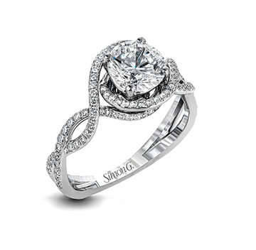 SIMON G ENGAGEMENT RING   LP2304