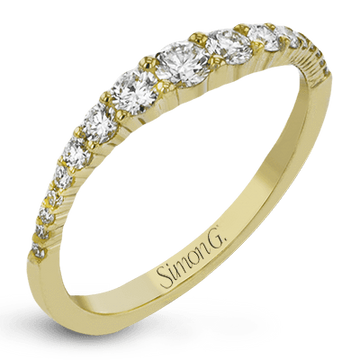 18KYW YELLOW GOLD SIMON G FASHION RING - LR1091-Y