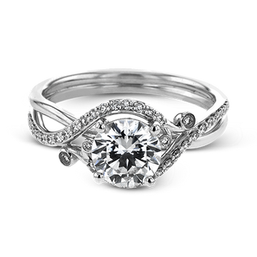 SIMON G ENGAGEMENT RING   LR2113