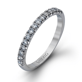 SIMON G LADIES WEDDING BAND MR2132