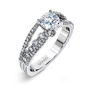 SIMON G ENGAGEMENT RING   MR2248-D