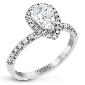 SIMON G ENGAGEMENT RING   MR2906