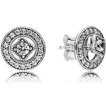 PANDORA VINTAGE CIRCLE STUD EARRINGS - Appelt's Diamonds