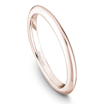 NOAM CARVER KNIFE EDGE WEDDING BAND