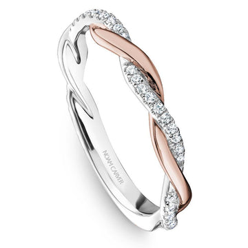 NOAM CARVER TWIST DIAMOND WEDDING BAND - Appelt's Diamonds
