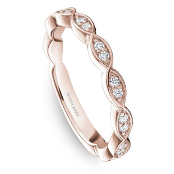 NOAM CARVER SCALLOPED WEDDING BAND - Appelt's Diamonds