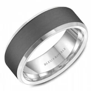 BLEU ROYALE RYL-123TW8-M10 WEDDING BAND