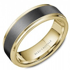 BLEU ROYALE RYL-168TY75-M10 WEDDING BAND