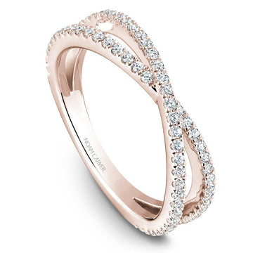 CRISCROSSING NOAM CARVER WEDDING RING WITH 71 DIAMONDS - Appelt's Diamonds