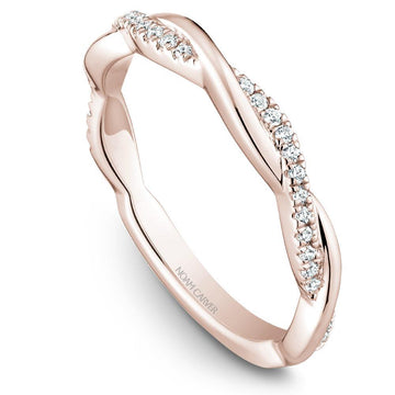 TWIST NOAM CARVER WEDDING RING WITH 30 DIAMONDS