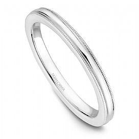 NOAM CARVER STACKABLE WEDDING RING STC1-4WA