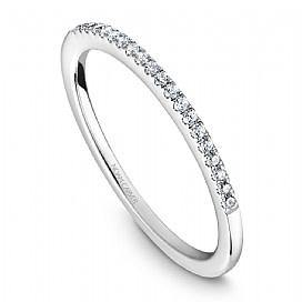 NOAM CARVER STACKABLE WEDDING BAND STC6-1WM-D - Appelt's Diamonds