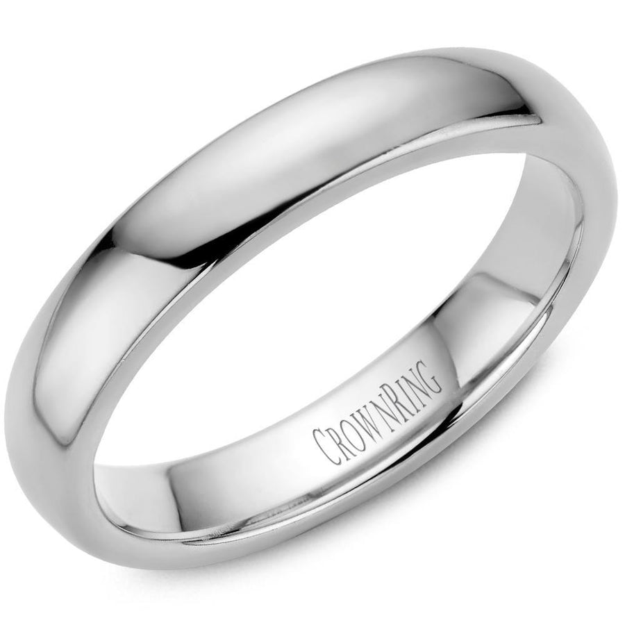 TRADITIONAL WEDDING BAND DOMED 10KW (SIZE 9-15)