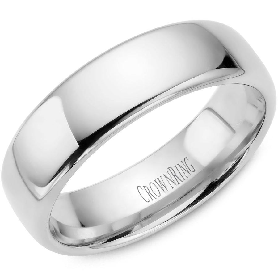 TRADITIONAL WEDDING BAND SUPREME COMFORT 10KW (SIZE 4 - 9) - Appelt's Diamonds