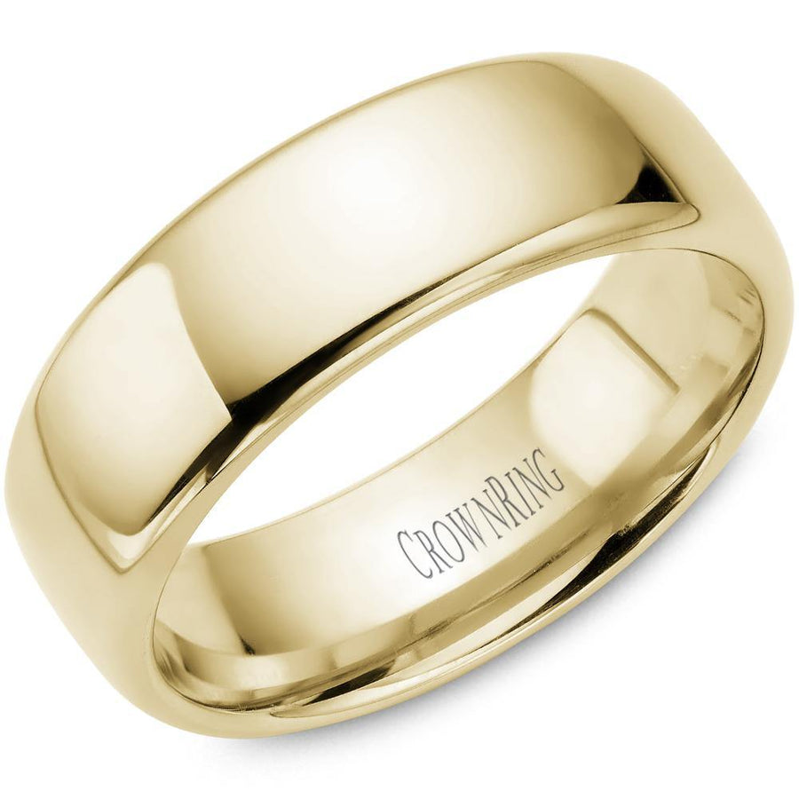 TRADITIONAL WEDDING BAND SUPREME COMFORT 10KY (SIZE 9 - 15)