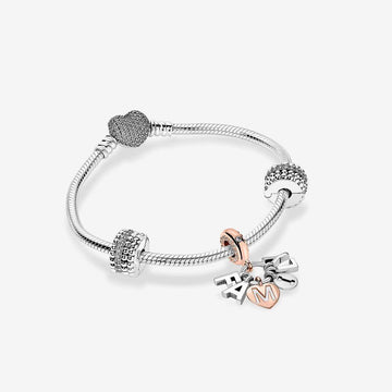 PANDORA HEART OF FAMILY BRACELET GIFT SET