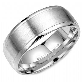 CROWN RING LADIES WEDDING BAND WB-7023-M10
