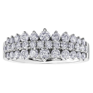 10K WHITE GOLD 1.00CTW DIAMOND RING - Appelt's Diamonds