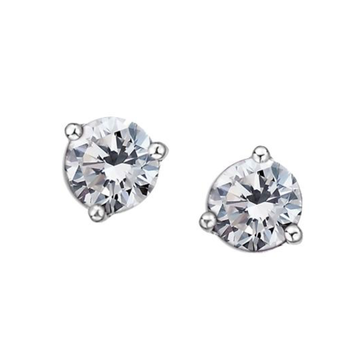 10K WHITE GOLD BIRTHSTONE STUD EARRINGS - Appelt's Diamonds
