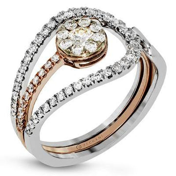 14KW ZEGHANI FASHION RING