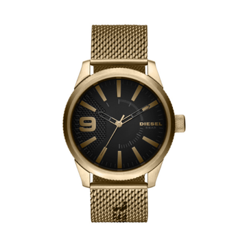 RASP NSBB THREE-HAND GOLD-TONE STEEL WATCH