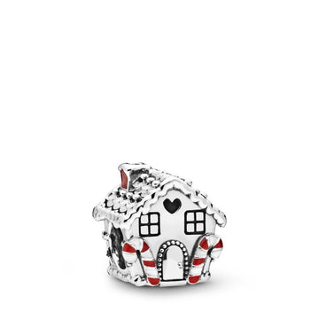 PANDORA GINGERBREAD HOUSE CHARM