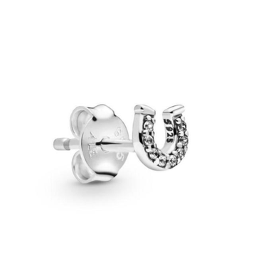 PANDORA ME MICRO SIZE MY LUCKY HORSESHOE STUD EARRING (SINGLE) - Appelt's Diamonds
