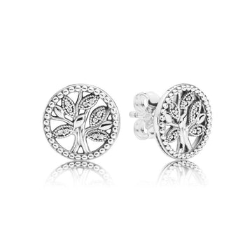 PANDORA TREE OF LIFE STUD EARRINGS