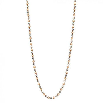 MI MONEDA ROSE GOLD PLATED ALEGRE NECKLACE 80CM