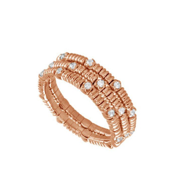 14K GOLD EMBRACE DIAMOND WRAP RING