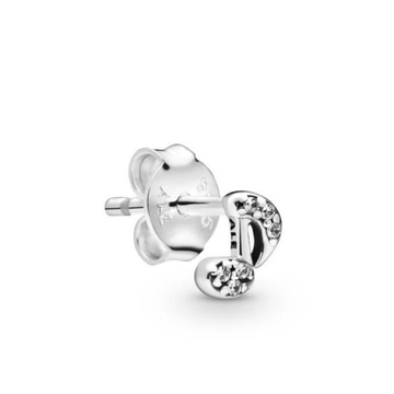 PANDORA ME MICRO SIZE MY MUSICAL NOTE CZ STUD EARRING (SINGLE) - Appelt's Diamonds