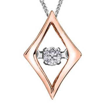 PULSE 10K GOLD DIAMOND NECKLACE - Appelt's Diamonds